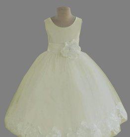 Meisjeskleding Feestjurk Saskia - gebroken wit