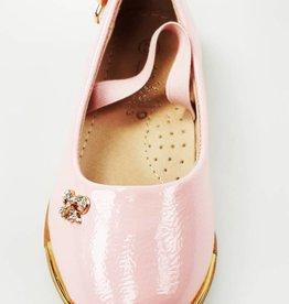 LaraModa Ballerina's - lak - roze