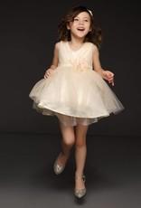 Meisjeskleding Meisjes Feestjurk Melanie - ivoor / geel