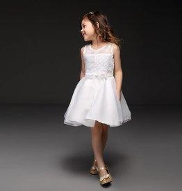 Meisjeskleding Feestjurk Renee - wit