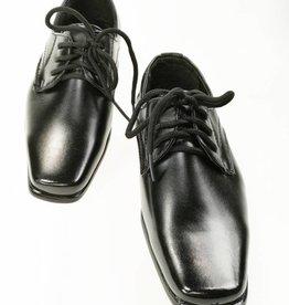 Jongensschoenen Veterschoen - zwart