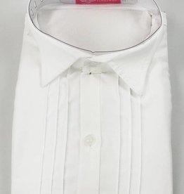 LaraModa Kinderoverhemd Jongens - lange mouwen - wit