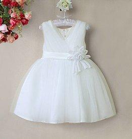 Meisjeskleding Feestjurk Melanie - gebroken wit