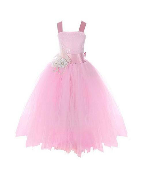 Meisjeskleding Meisjes Feestjurk Lizzy - roze