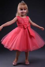 Meisjeskleding Meisjes Feestjurk Lola - roze