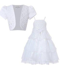 Meisjeskleding Feestjurk Evi - wit