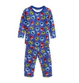 LaraModa Sesamstraat Pyjama - blauw