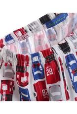 Jongenspyjama's American Cars Jongens Pyjama - rood / blauw / zwart