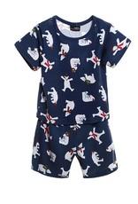 LaraModa Kleine IJsbeer Jongens Pyjama - blauw