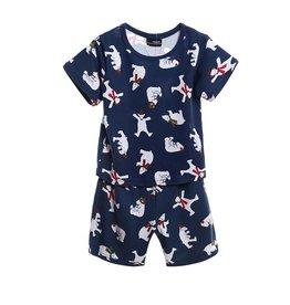 LaraModa Kleine IJsbeer Pyjama - blauw