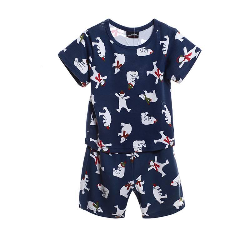 Jongenspyjama's Kleine IJsbeer Jongens Pyjama - blauw