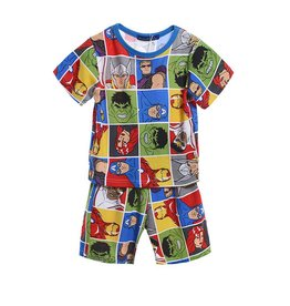Jongenspyjama's Avengers Pyjama 2 - blauw