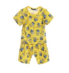 Jongenspyjama's Minions Pyjama - geel
