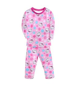 Meisjespyjama's Hello Kitty Pyjama - roze