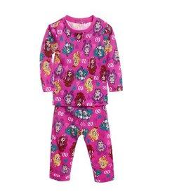 LaraModa Ever After High Pyjama - roze (fuchsia)