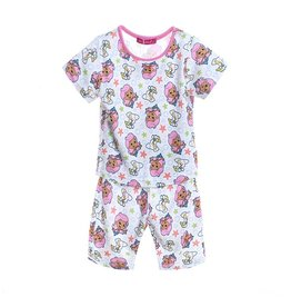 LaraModa Bubble Guppies Pyjama - wit / roze