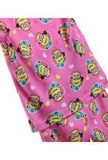 LaraModa Minions Meisjes Pyjama - roze