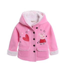 LaraModa Peppa Pig Meisjesjas - roze
