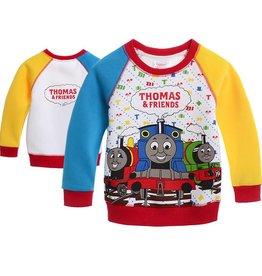 LaraModa Thomas en Vrienden Sweater - rood / geel / blauw