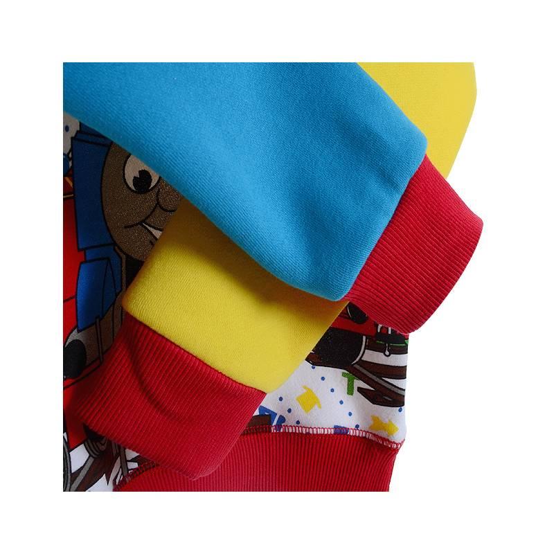 Jongenskleding Thomas en Vrienden Jongens Sweater - rood / geel / blauw