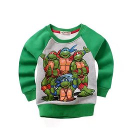 LaraModa Teenage Mutant Ninja Turtles Sweater - groen