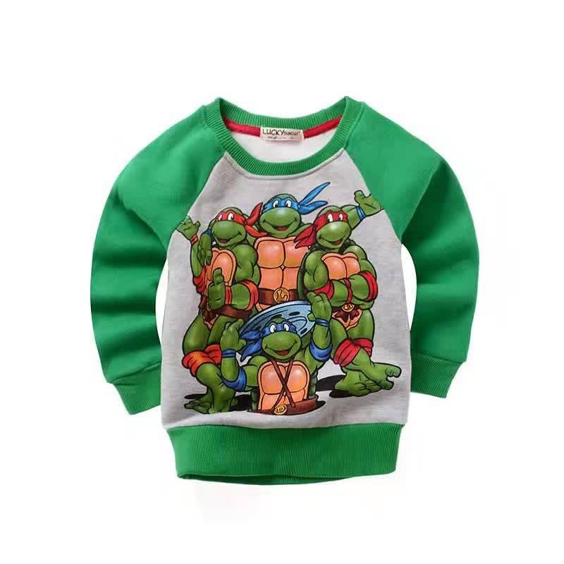 Kinderkleding Teenage Mutant Ninja Turtles Jongens Sweater Groen