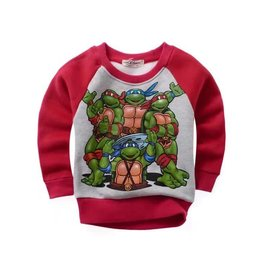 LaraModa Teenage Mutant Ninja Turtles Sweater - rood