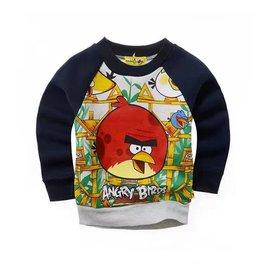 LaraModa Angry Birds Sweater - zwart