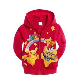Jongenskleding Pokémon GO Sweatvest - rood