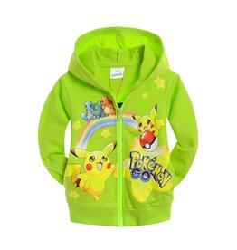 Jongenskleding Pokémon GO Sweatvest - groen