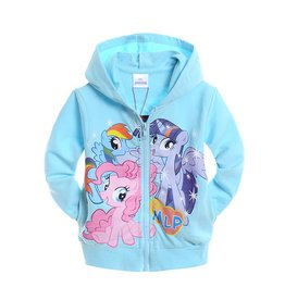 Meisjeskleding My Little Pony Sweatvest - blauw