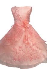 Meisjeskleding Meisjes Feestjurk Esmeralda - lichtroze