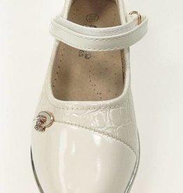 Meisjesschoenen Pumps - lak - gebroken wit
