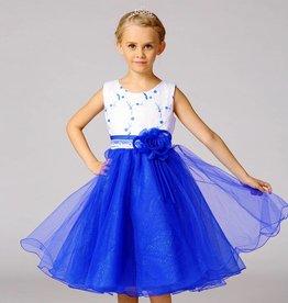 LaraModa Feestjurk Mila - blauw