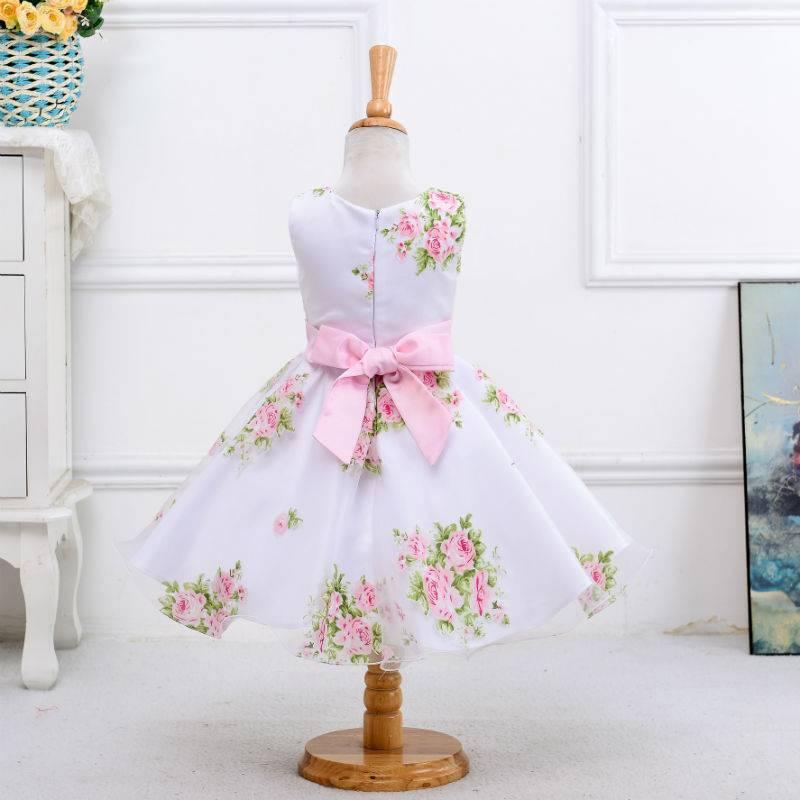 Meisjeskleding Meisjes Feestjurk Sofia - roze