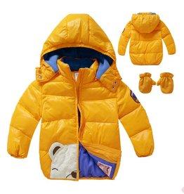 Jongenskleding IJsbeer Jongensjas - geel