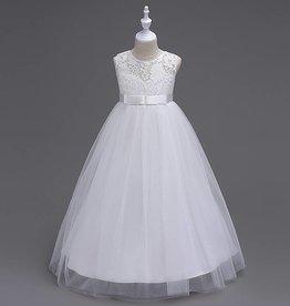 Meisjeskleding Feestjurk Victoria - wit
