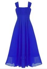 Meisjeskleding Meisjes Feestjurk Lilly - blauw