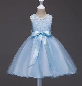 LaraModa Feestjurk Romy - blauw