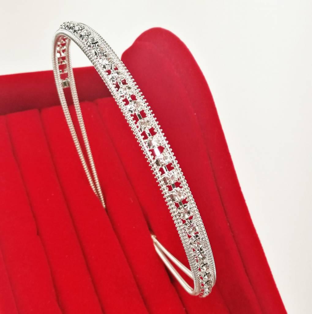 Haardecoratie Accessoires voor Meisjes - Strass Diadeem / Tiara - SD-10
