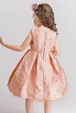LaraModa Meisjes Feestjurk Amber - roze