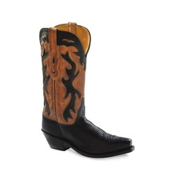 Old West Dames Cowgirlboot Canyon Night