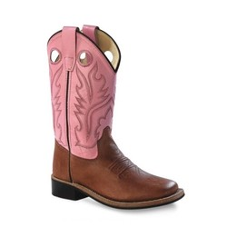 Old West STOCKSALE! - 30% op diverse maten! Kids Broadsquare Canyonbruin - Roze