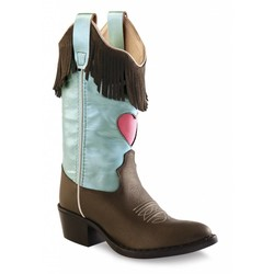 Old West NIEUW!!! Kids Westerngirl Pearly Blue