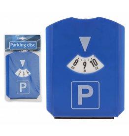Parkeerschijf + raamkrabber/wis
