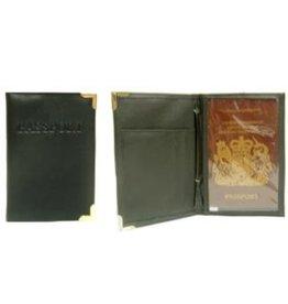 Paspoort Etui zwart   10x14cm