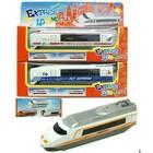Die Cast metalen Express Locomotief 6 assorti in window box