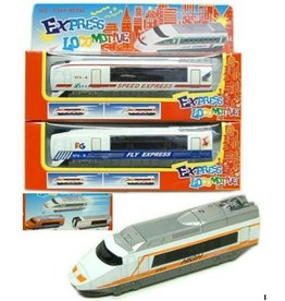 Die Cast metalen Express Locomotief 6 assorti in window box