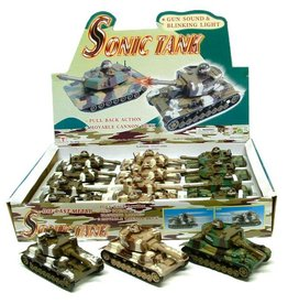 Tank Sonic per 12 in display