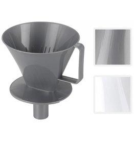 Koffiefilter houder pp dia 135mm 2 ass. kleur